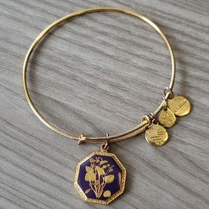 """Alex and Ani bracelet - """"Violet"""""""
